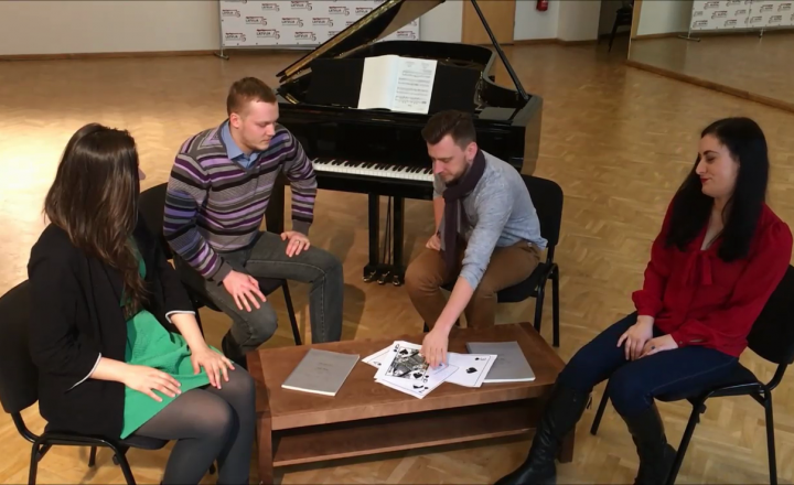 State Choir Latvia about «Pique Dame»